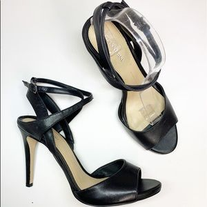 Gianni Bini Black Stappy Heels 9M NWOT